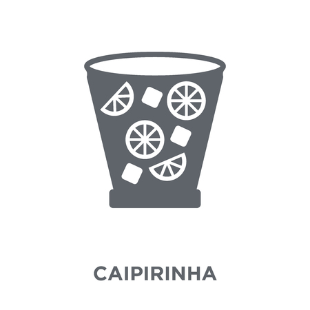 Caipirinha icon. Caipirinha design concept from Drinks collection. Simple element vector illustration on white background.