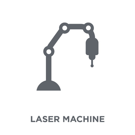 Laser Machine icon. Laser Machine design concept from Electronic devices collection. Simple element vector illustration on white background.