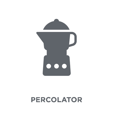 percolator icon. percolator design concept from Electronic devices collection. Simple element vector illustration on white background. Ilustração