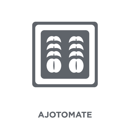 Ajotomate icon. Ajotomate design concept from Spanish Food collection. Simple element vector illustration on white background. Illustration
