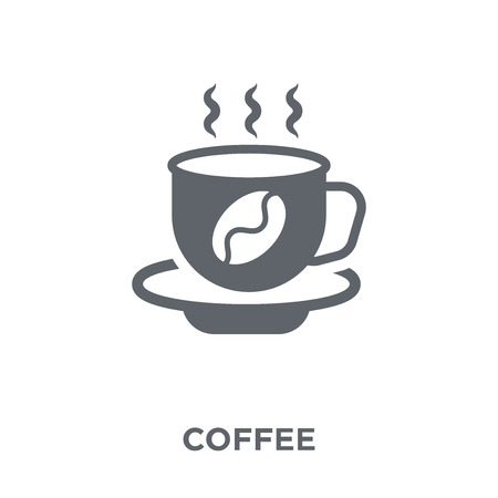 Coffee icon. Coffee design concept from Drinks collection. Simple element vector illustration on white background.