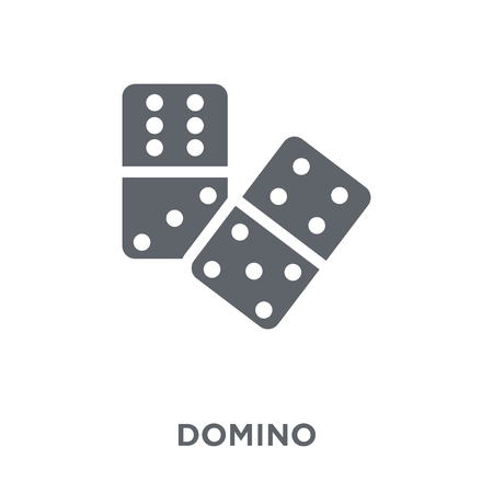 Domino icon. Domino design concept from Arcade collection. Simple element vector illustration on white background.