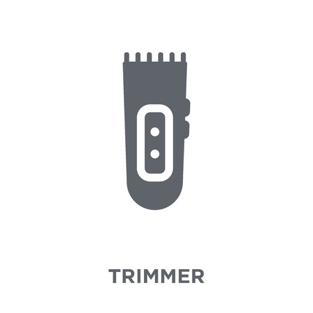trimmer icon. trimmer design concept from Electronic devices collection. Simple element vector illustration on white background.