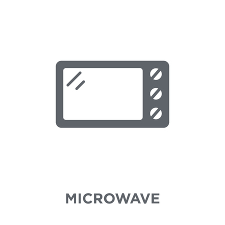 Microwave icon. Microwave design concept from Electronic devices collection. Simple element vector illustration on white background.