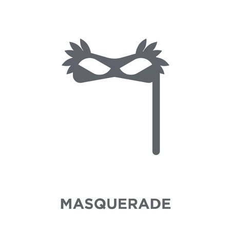 Masquerade icon. Masquerade design concept from Entertainment collection. Simple element vector illustration on white background.