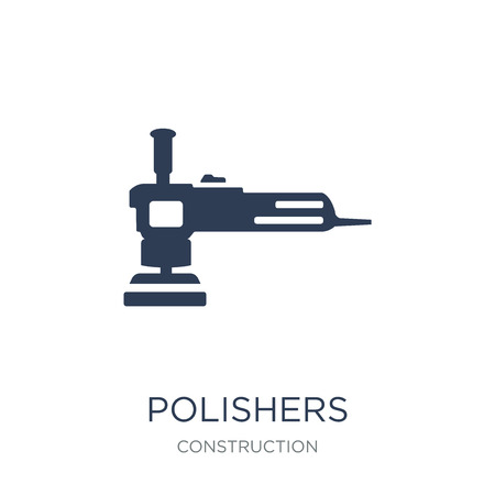 Polishers icon. Trendy flat vector Polishers icon on white background from Construction collection, vector illustration can be use for web and mobile, eps10