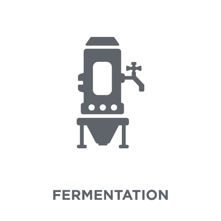 Fermentation icon. Fermentation design concept from Drinks collection. Simple element vector illustration on white background. Stock Illustratie