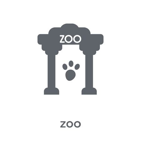 zoo icon. zoo design concept from Entertainment collection. Simple element vector illustration on white background.