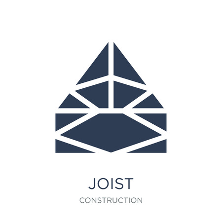 Joist icon. Trendy flat vector Joist icon on white background from Construction collection, vector illustration can be use for web and mobile, eps10