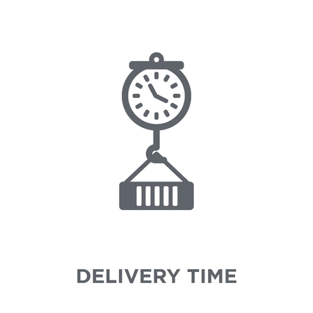 Delivery Time icon. Delivery Time design concept from Delivery and logistic collection. Simple element vector illustration on white background.