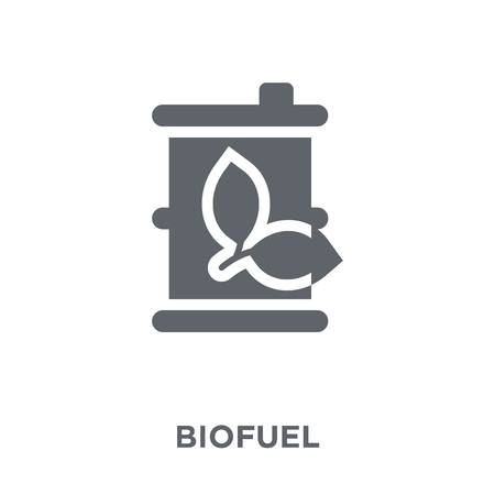 Biofuel icon. Biofuel design concept from Ecology collection. Simple element vector illustration on white background.