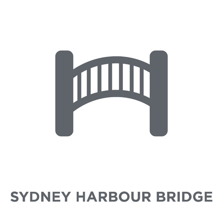 Sydney Harbour Bridge icon. Sydney Harbour Bridge design concept from Australia collection. Simple element vector illustration on white background. Illustration