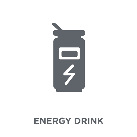 Energy drink icon. Energy drink design concept from Drinks collection. Simple element vector illustration on white background.