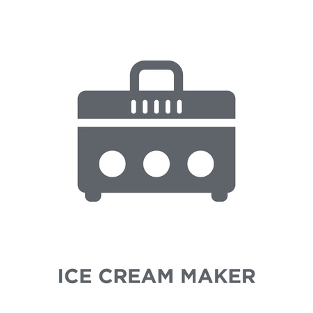 ice cream maker icon. ice cream maker design concept from Electronic devices collection. Simple element vector illustration on white background.