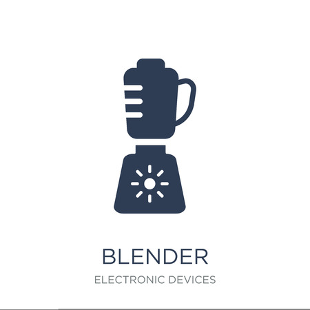 Blender icon. Trendy flat vector Blender icon on white background from Electronic devices collection, vector illustration can be use for web and mobile, eps10