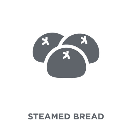 Steamed Bread icon. Steamed Bread design concept from Chinese Food collection. Simple element vector illustration on white background.