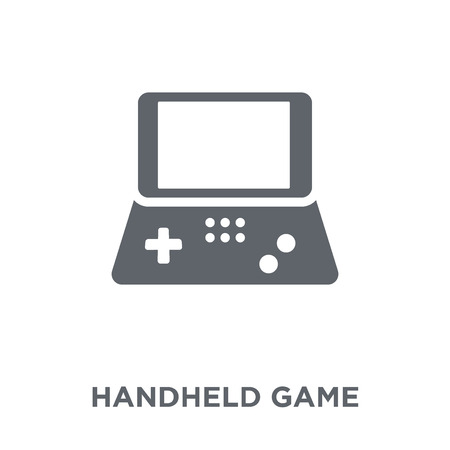Handheld game icon. Handheld game design concept from Entertainment collection. Simple element vector illustration on white background. Illustration