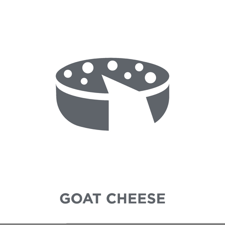 Goat Cheese icon. Goat Cheese design concept from Spanish Food collection. Simple element vector illustration on white background. Foto de archivo - 112099722