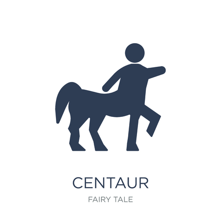Centaur icon. Trendy flat vector Centaur icon on white background from Fairy Tale collection, vector illustration can be use for web and mobile, eps10