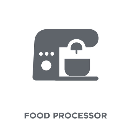 food processor icon. food processor design concept from Electronic devices collection. Simple element vector illustration on white background. Illustration