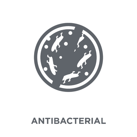 antibacterial icon. antibacterial design concept from Hygiene collection. Simple element vector illustration on white background.