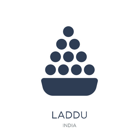 Laddu icon. Trendy flat vector Laddu icon on white background from india collection, vector illustration can be use for web and mobile, eps10