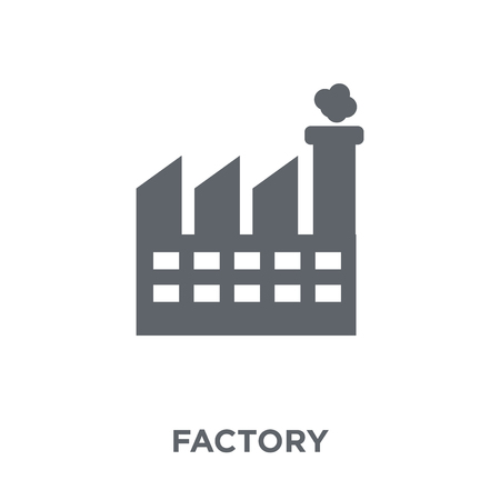 Factory icon. Factory design concept from  collection. Simple element vector illustration on white background.