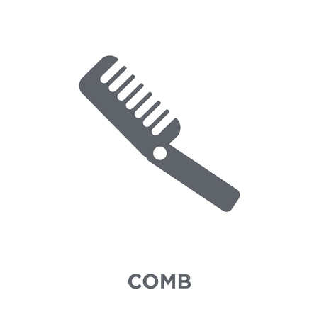 Comb icon. Comb design concept from  collection. Simple element vector illustration on white background.