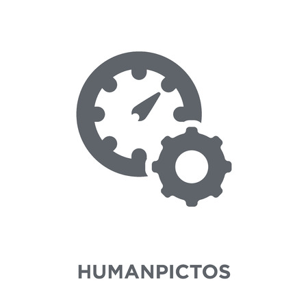 Humanpictos icon. Humanpictos design concept from Human resources collection. Simple element vector illustration on white background.