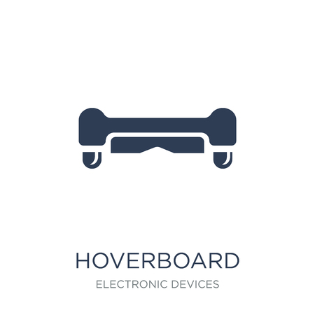 Hoverboard icon. Trendy flat vector Hoverboard icon on white background from Electronic devices collection, vector illustration can be use for web and mobile, eps10 Illustration