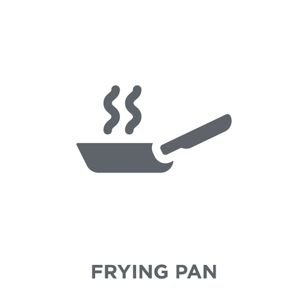 Frying pan icon. Frying pan design concept from  collection. Simple element vector illustration on white background.