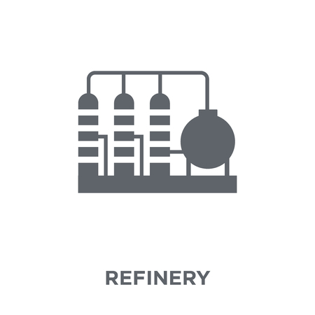 Refinery icon. Refinery design concept from  collection. Simple element vector illustration on white background.