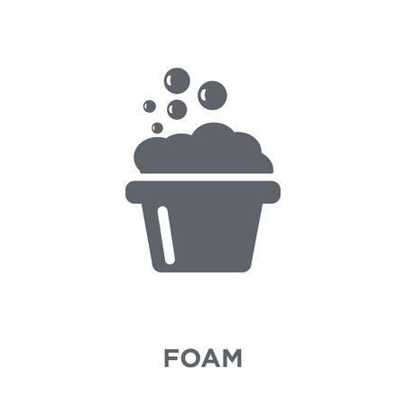 Foam icon. Foam design concept from  collection. Simple element vector illustration on white background.
