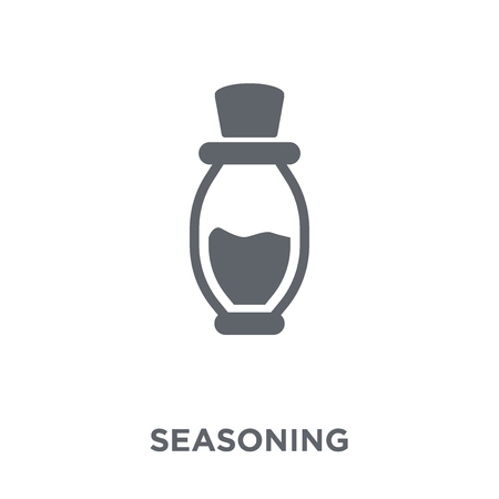 Seasoning icon. Seasoning design concept from Kitchen collection. Simple element vector illustration on white background. Stock Illustratie