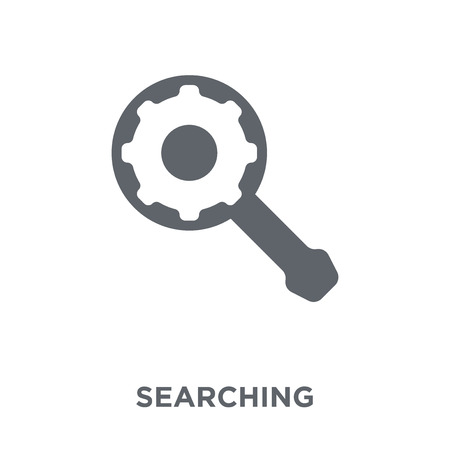 Searching icon. Searching design concept from Human resources collection. Simple element vector illustration on white background.