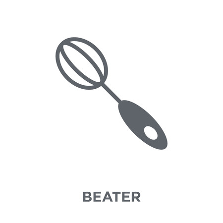 beater icon. beater design concept from Kitchen collection. Simple element vector illustration on white background.