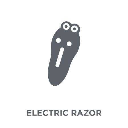 Electric razor icon. Electric razor design concept from  collection. Simple element vector illustration on white background.