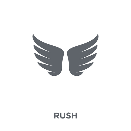 Rush icon. Rush design concept from Time managemnet collection. Simple element vector illustration on white background. Illustration