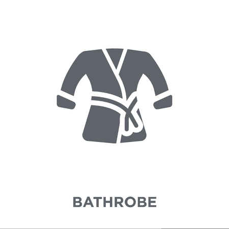 Bathrobe icon. Bathrobe design concept from Hotel collection. Simple element vector illustration on white background. Иллюстрация