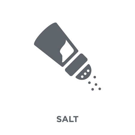 Salt icon. Salt design concept from  collection. Simple element vector illustration on white background. Stock Illustratie