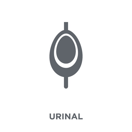 Urinal icon. Urinal design concept from  collection. Simple element vector illustration on white background.