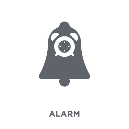 Alarm icon. Alarm design concept from Time managemnet collection. Simple element vector illustration on white background.