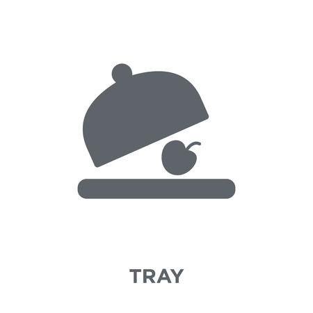 Tray icon. Tray design concept from  collection. Simple element vector illustration on white background. Illustration