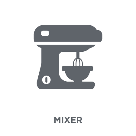 Mixer icon. Mixer design concept from  collection. Simple element vector illustration on white background.