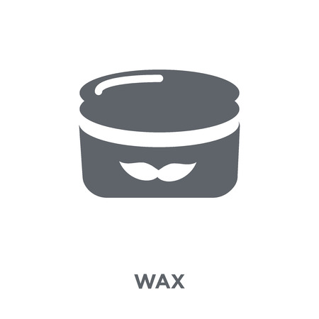 Wax icon. Wax design concept from  collection. Simple element vector illustration on white background.