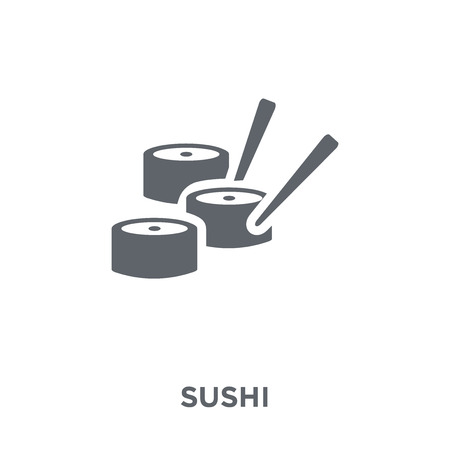 Sushi icon. Sushi design concept from Restaurant collection. Simple element vector illustration on white background.