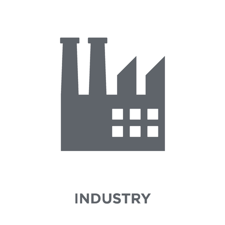 Industry icon. Industry design concept from  collection. Simple element vector illustration on white background. Zdjęcie Seryjne - 112137629