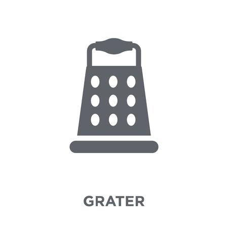 Grater icon. Grater design concept from  collection. Simple element vector illustration on white background.