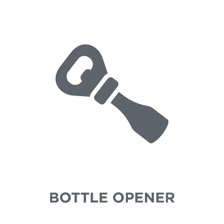 Bottle Opener icon. Bottle Opener design concept from  collection. Simple element vector illustration on white background.  イラスト・ベクター素材