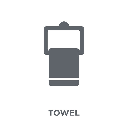Towel icon. Towel design concept from  collection. Simple element vector illustration on white background.